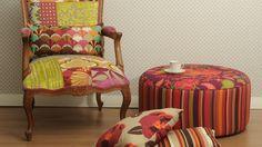 Японский пэчворк Patchwork Designs, Patchwork Ideas, Modern Interior Design, Accent Chairs, Armchair, Room Decor, The Originals, Stylish, Furniture