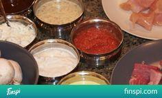 A family fondue!   Multitasking Mom