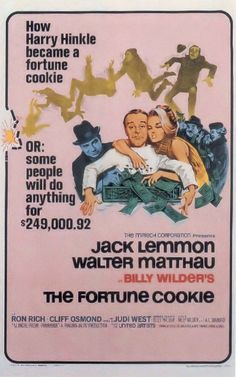 THE FORTUNE COOKIE (dir. Billy Wilder, 1966)