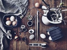 rustic easter inspiration