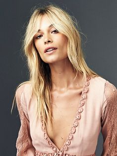 Barbara di Creddo    FP + For Love & Lemons Lilou Ultra Femme Midi Dress (Dusty Pink)