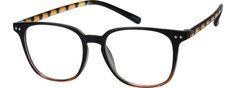 Black Square Eyeglasses #1279   Zenni Optical Eyeglasses