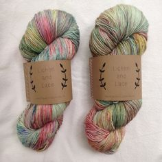 """Wild Flowers"" ~ Lichen and Lace Hand Dyed Yarn by lichenandlace yards single ply fingering wool) Easy Knitting, Knitting Yarn, Knitting Patterns, Yarn Inspiration, Yarn Stash, Types Of Yarn, Sock Yarn, Hand Dyed Yarn, Yarn Colors"