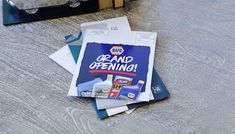 Grand opening EDDM® Postcard for NAPA. Get your business in front of new customer with Every Door Direct Mail.