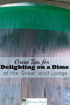 Delighting on a dime at the Great Wolf Lodge only takes a small amount of preparation and planning.