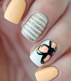12 Lovely manicures that use glitter