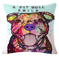 Pitbull Series Pillow Covers