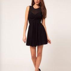 Nwt Black Skater Dress