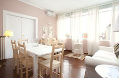 Beautiful rental in Spain. Daily Deals, Spain, Vanity, Dining Table, Mirror, Furniture, Beautiful, Home Decor, Dressing Tables