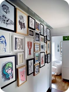 13 Best Multiple Wall Frame Hanging Images Hanging Pictures