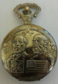 VINTAGE NATIONAL COMMEMORATIVE ARCHIVES POCKET WATCH LIMITED EDITION 1863