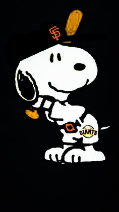 Snoopy misses SF Giants baseball too