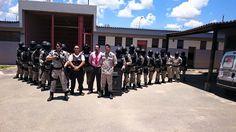 ALEXANDRE GUERREIRO: PRESÍDIO DE VESPASIANO - Na foto o Diretor Geral d...