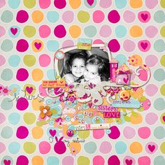 """Page is created with  """"Sisterly"""" by Red Ivy Design"""