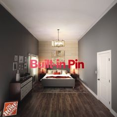 DIY shiplap - Don't get intimidated by a dramatic before and after. Snap-lock laminate flooring and an easy DIY - Home Renovation, Home Remodeling, Home Bedroom, Bedroom Decor, Bedrooms, My New Room, Diy Kitchen, Home Projects, Designer