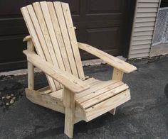 Captivating Pallet Adirondack Chair