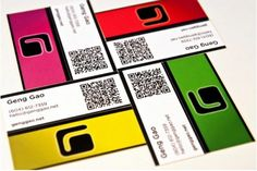 In Business Cards Collection Geng Gao Exemple Carte De Visite Design