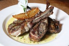 New favorite dish added by Contributing Chef Ricky Yap of Akiko's Restaurant. #Grilled #lamb #chops from Kokkari. #greek #potatoes #lemon #oregano #vinaigrette #lunch #dinner #mediumrare #steak #hearty #eat #hungry #food #instagood #yummy #greece #sanfrancisco #SF #chefsfeed