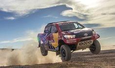 Toyota Hilux 2017 Dakar rally: