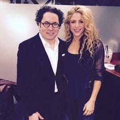 With director @gustavodudamel / Con el director Gustavo Dudamel. Shak