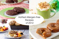 Hottest Allergen-free recipes (interesting if you have a nut allergy or are eating gluten free!)