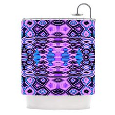 "Kess InHouse Nina May ""Deztecca Lilac"" Purple Blue Shower Curtain, 69 by 70-Inch Kess InHouse http://www.amazon.com/dp/B00NMBU450/ref=cm_sw_r_pi_dp_B9Vevb0KJSRKG"