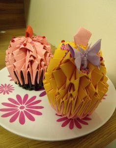 3D Origami Cupcake GBP850