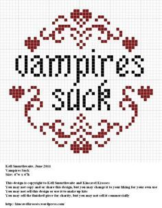 quirky cross stitch patterns - Google Search