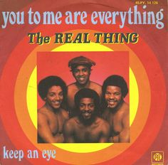 3 weeks at Number One in July 1976, You to me are everything by The Real Thing.  Seventies / 1970s music