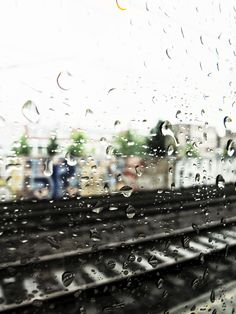 Rain on train window, Holland - july 2012 Image © Helen Jones-Florio    http://www.flickr.com/photos/wordlyimages2/7558547422/in/photostream