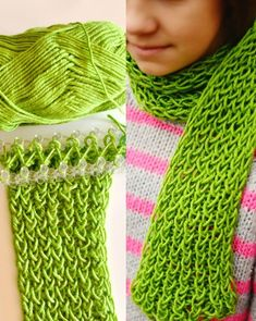 """<input class=""""jpibfi"""" type=""""hidden"""" >Last summer, my kids and I made many bracelets on Rainbow loom , we had much fun ! Do you know, you can make knitted scarf and gloves on the loom ? The loom Knitting Patterns are simple and great for colder weather. Of cource, they are also fun to make that the kids can…"""