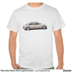Mercedes-Benz W201 (190) bronze-beige Tee Shirt