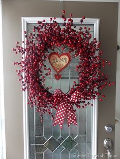 simple valentines day decor, christmas decorations, crafts, seasonal holiday d cor, valentines day ideas, wreaths