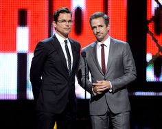 Pin for Later: 16 Very Important Highlights From This Year's Guys Choice Awards Matt Bomer Bewitched Everyone With His Handsomeness Those. Glasses.