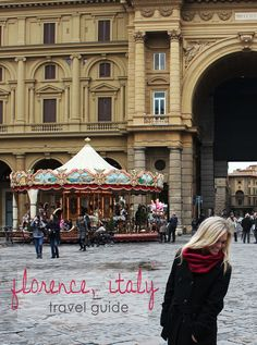 Florence, Italy // Travel Guide! Best sites, attractions & food!*love blog in general, includes other cities*