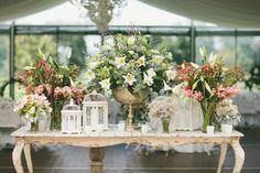Shabby Chic Wedding Reception | country vintage | Shabby Chic weddings