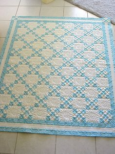 Pattern idea for the Laura Ashley squares from the London shoppe IMG_0708.JPG | Flickr - Photo Sharing!