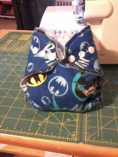 Newborn batman cloth diaper with umbilical snap https://www.facebook.com/erikawahm1?ref=bookmarks