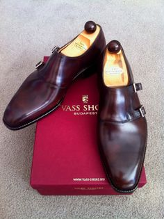 Vass Shoes: Double Monk