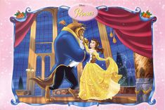 Beauty And The Beast Movie, Cinderella And Prince Charming, Belle And Beast, Disney Princesses And Princes, Princess Drawings, Disney Couples, Disney Fan Art, Princesas Disney, Film