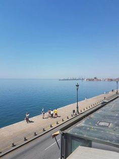 View of the port Macedonia, One And Only, Daydream, Beautiful Places, Greece Thessaloniki, Beach, Water, Travel, Life