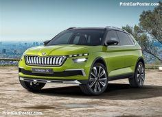 De nieuwe skoda Vision X 2019 beoordeling. Het idee van Skoda Vision X Ford Ecosport, Jeep Renegade, New Upcoming Cars, Crossover, Nissan Kicks, Hyundai Creta, Honda Hr-v, Arona, Mid Size Suv