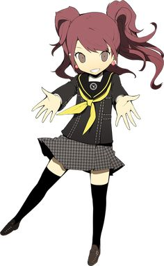 Persona Q: Shadow of the Labyrinth - Rise Kujikawa