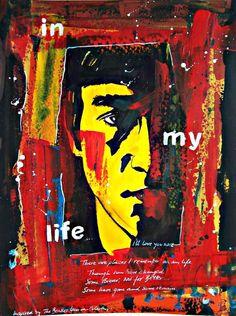 In My Life - The Beatles - John Lennon by Walter Vermeulen