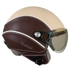 I have a crush on this helmet. Goes with my scooter, no? Open Face Motorcycle Helmets, Open Face Helmets, Motorcycle Trailer, Motorcycle Style, Motorcycle Gear, Motorcycle Jackets, Biker Helmets, Women Motorcycle, Scooter Helmet