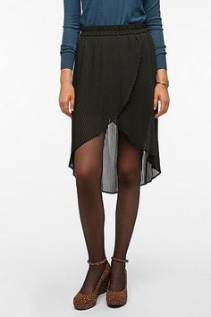 KB Pleated Tulip Front Skirt- Spring 2012