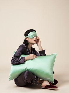 silk pillow case +silk sleep mask Pajamas All Day, Cute Pajamas, Cute Sleepwear, Sleepwear Women, Satin Pajamas, Pyjamas, Cute Sleep Mask, Pijamas Women, Night Suit