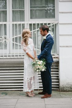 casual & stress-free london wedding   via: rock n roll bride