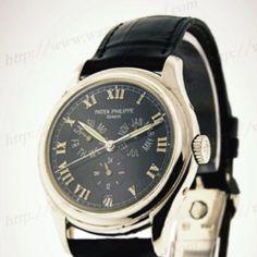 Patek Philippe 5035P Annual Calendar, Platinum, Grey Dial