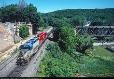 RailPictures.Net Photo: DH 7303 Delaware & Hudson EMD GP38-2 at Treichlers, Pennsylvania by Steve Barry / www.railroadphotographer.com